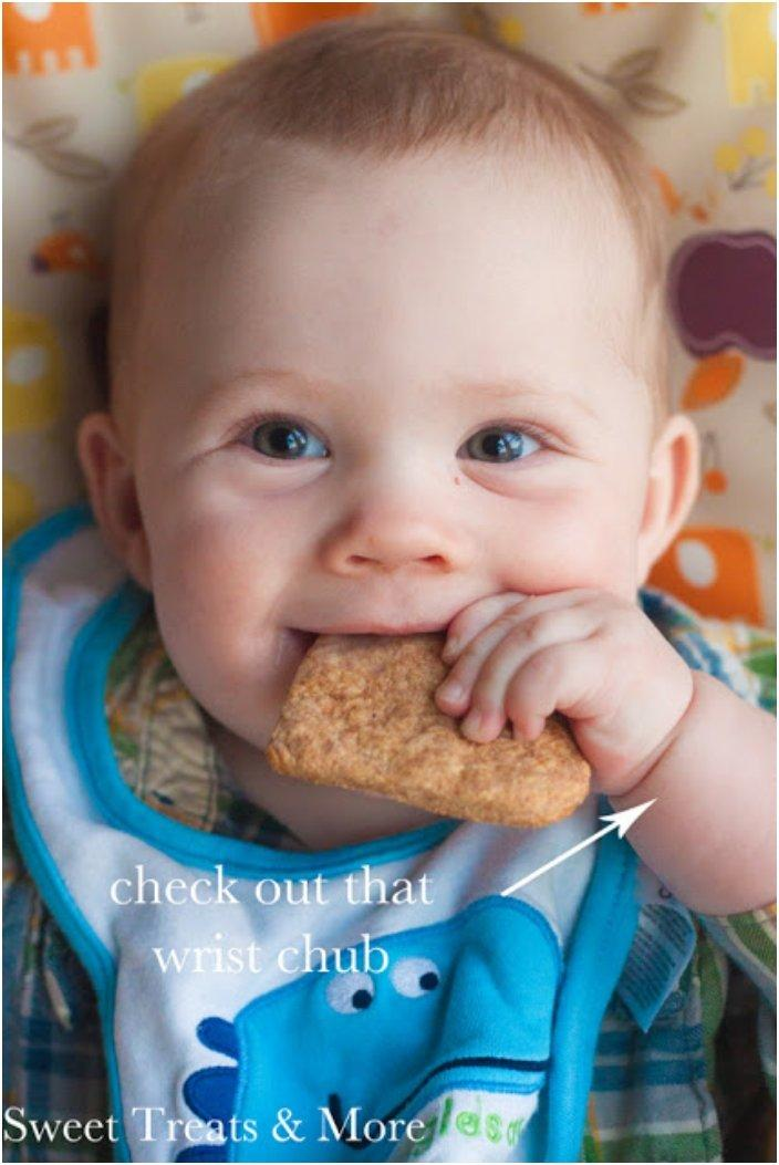 Teething Biscuits With Banana