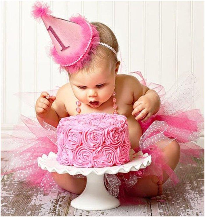 Fun Ideas Your Baby Girl First Birthday Shoot