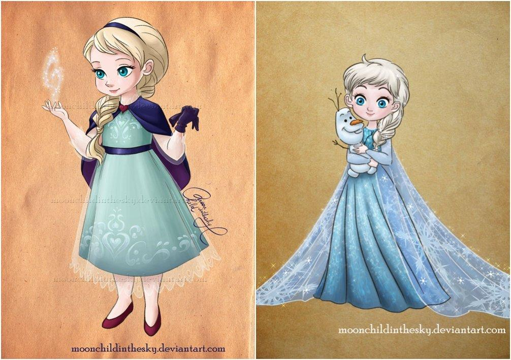 The Most Adorable Recreations Of 23 Disney's Princesses
