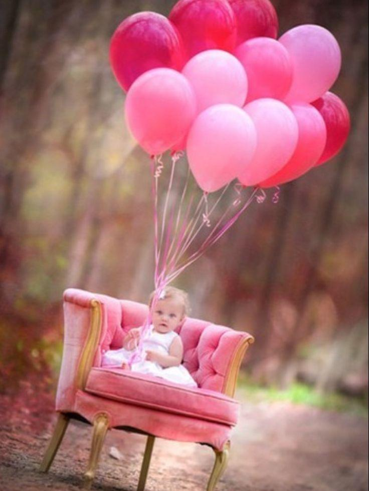 22 Fun Ideas For Your Baby Girls First Birthday Photo Shoot Page