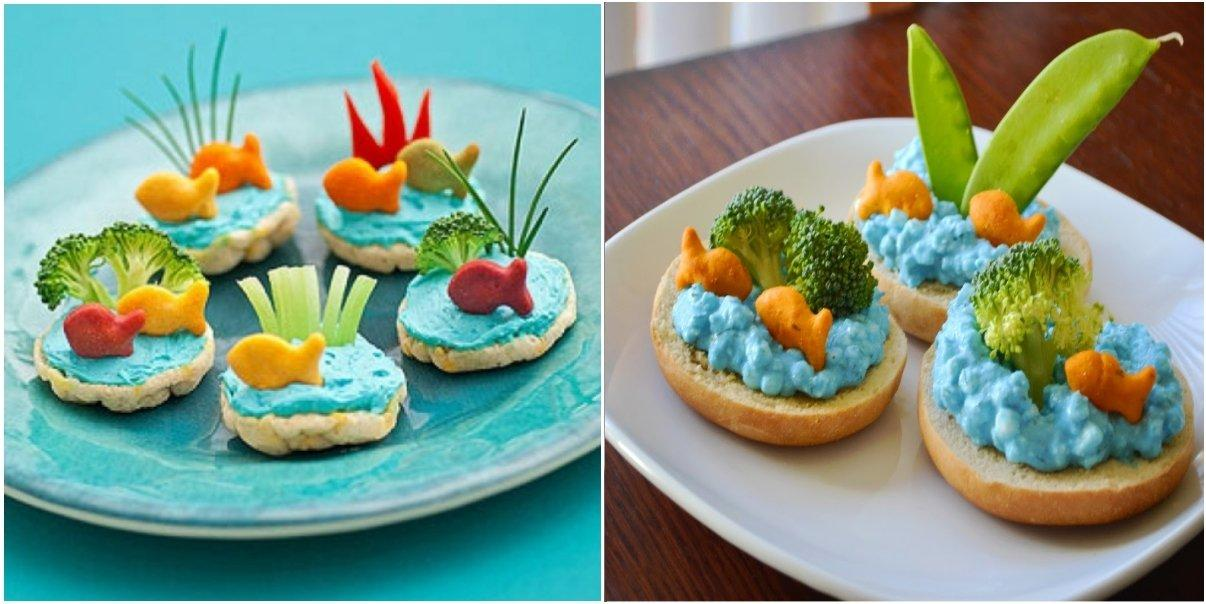 12 Fun Kid's Snack Recipes With Goldfish Crackers