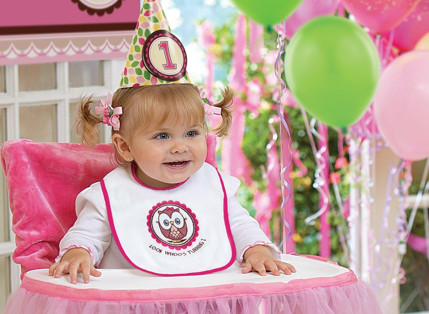 22 fun ideas for your baby girl 39 s first birthday photo shoot for Baby girl birthday party decoration ideas