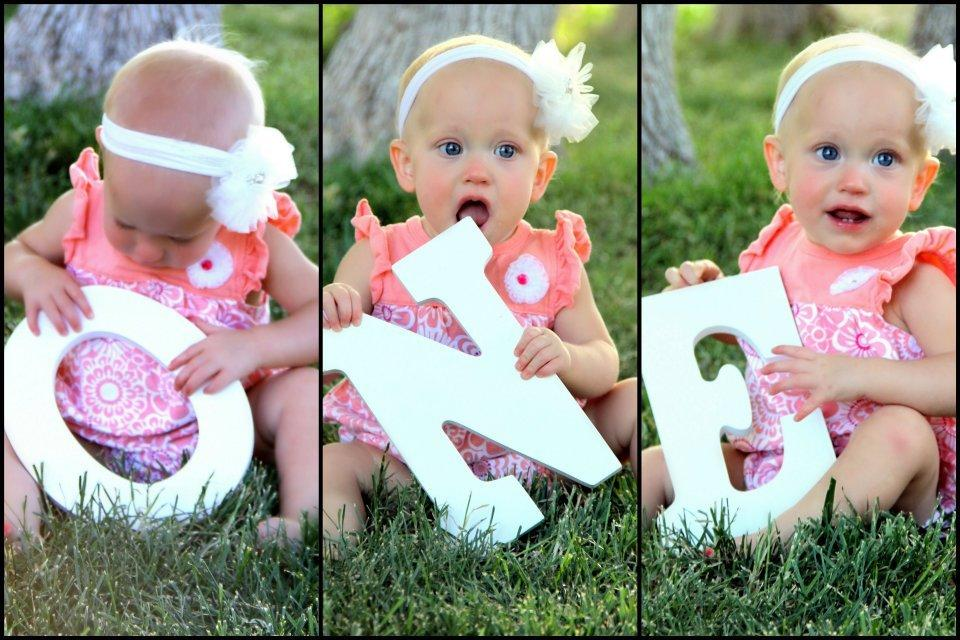 22 Fun Ideas For Your Baby Girls First Birthday Photo Shoot