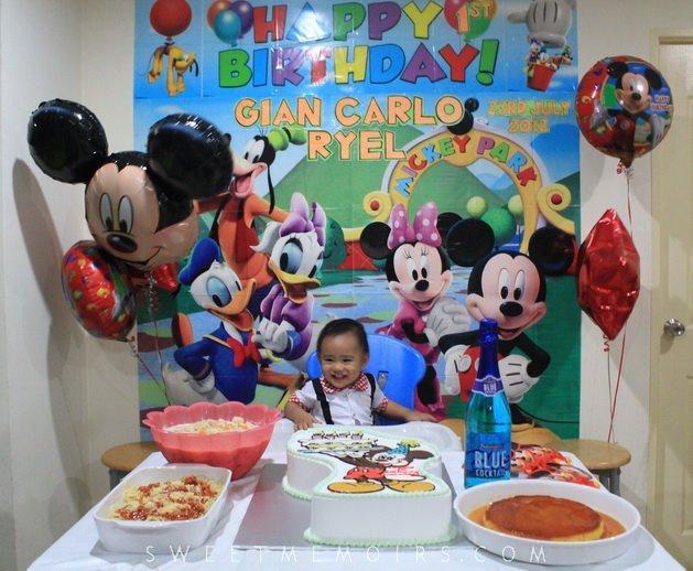 Baby Boy First Birthday Chalk Balloons Boy First Birthday