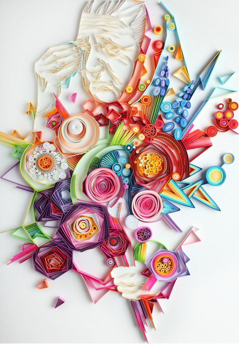 20 Astonishing Quilling Artworks By Yulia Brodskaya