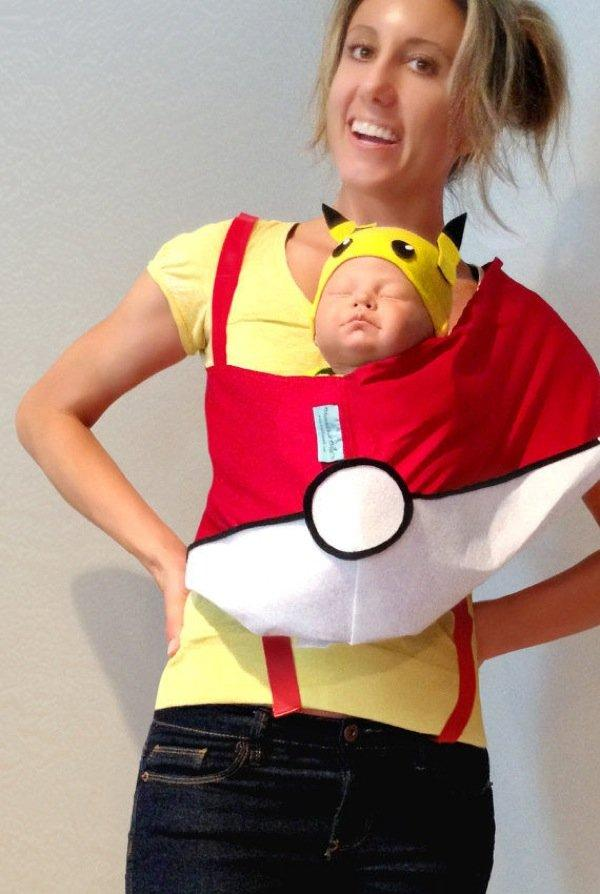 35 Ideas To Turn Your Baby Carrier Into A Great Halloween Costume
