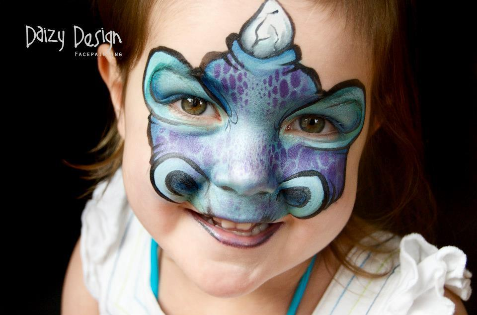 30 Face Paintings Perfect For A Kid S Halloween Party