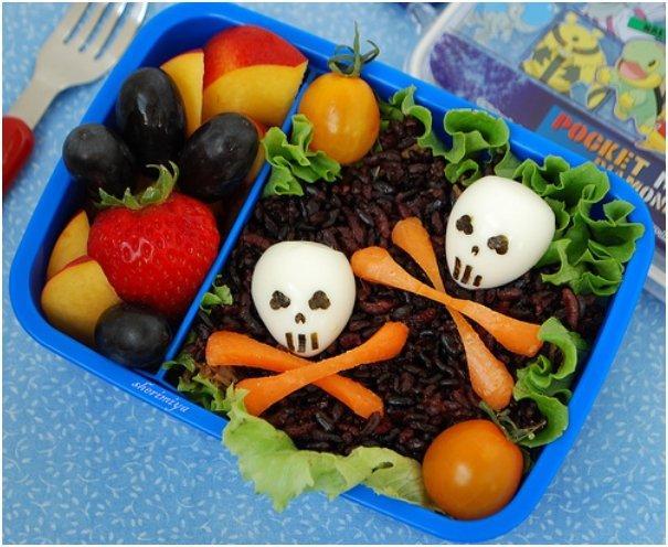 22 Ghoulishly Healthy Halloween Bento Recipes