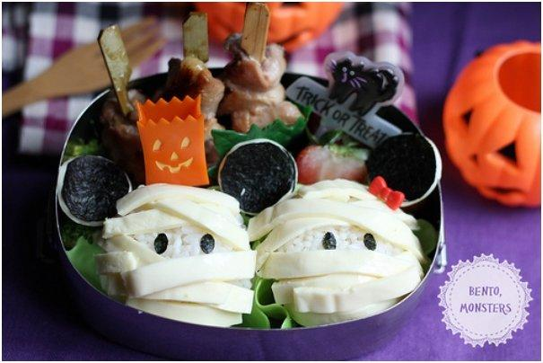 22 Ghoulishly Healthy Halloween Bento Recipes