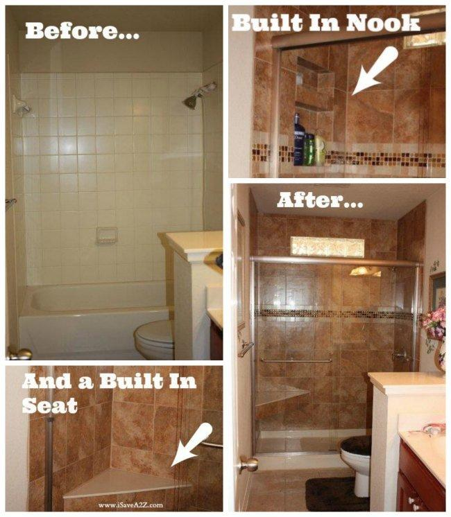 DIY Bathroom Remodel  Before amp After