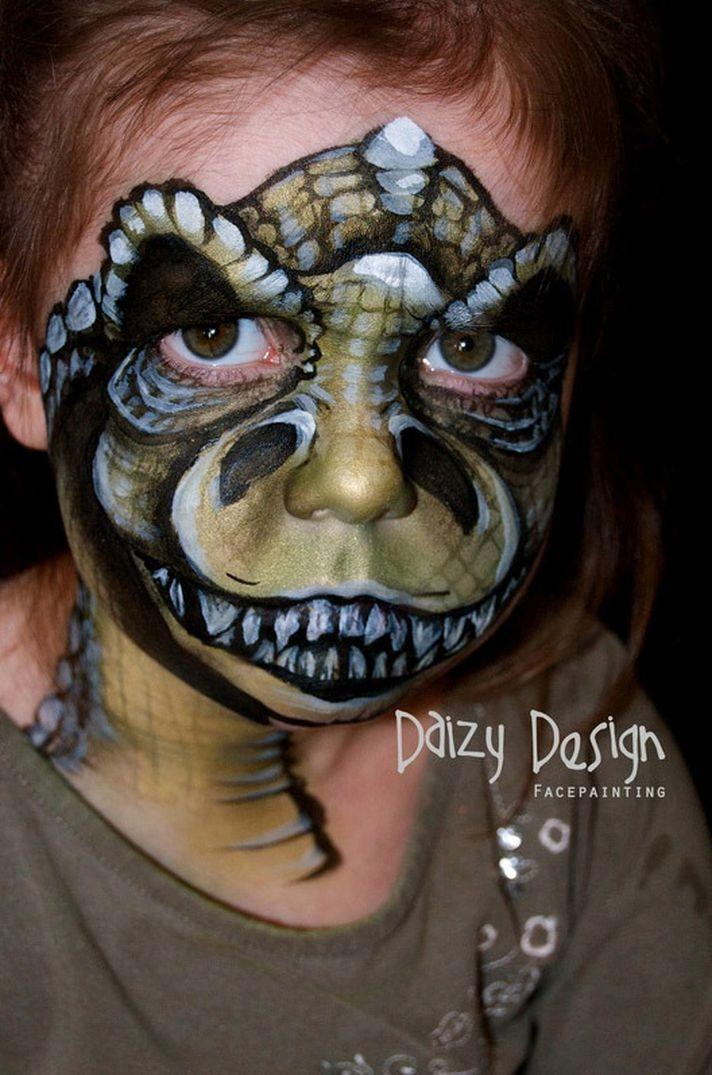 30 Face Paintings Perfect For A Kid's Halloween Party