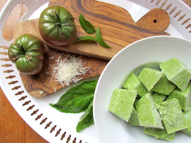 Green Tomato Pesto