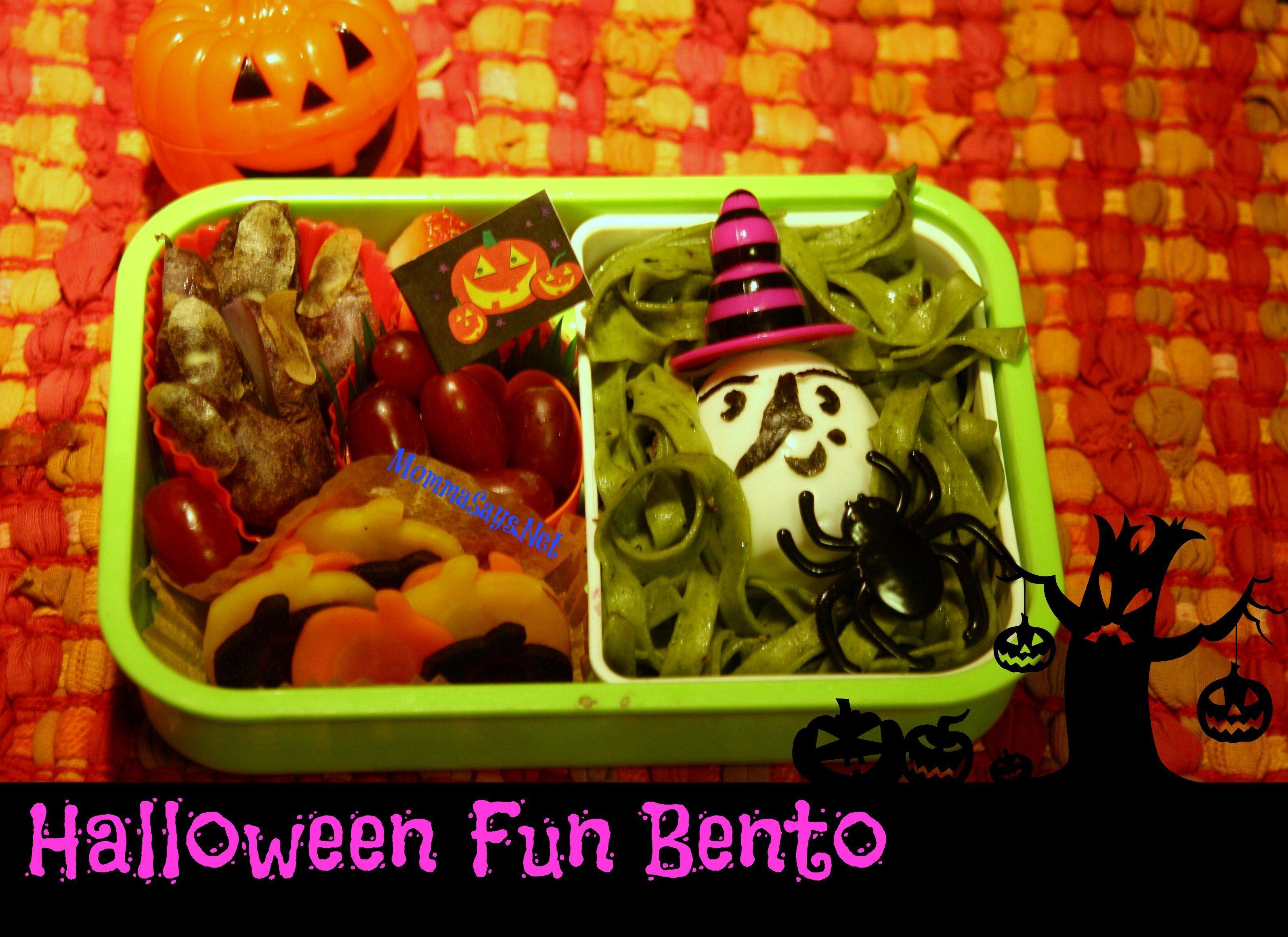 HalloweenFunBento