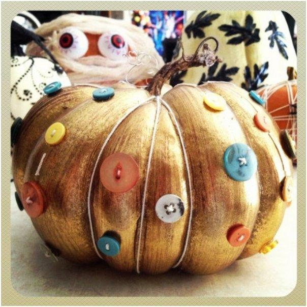 button pumpkin