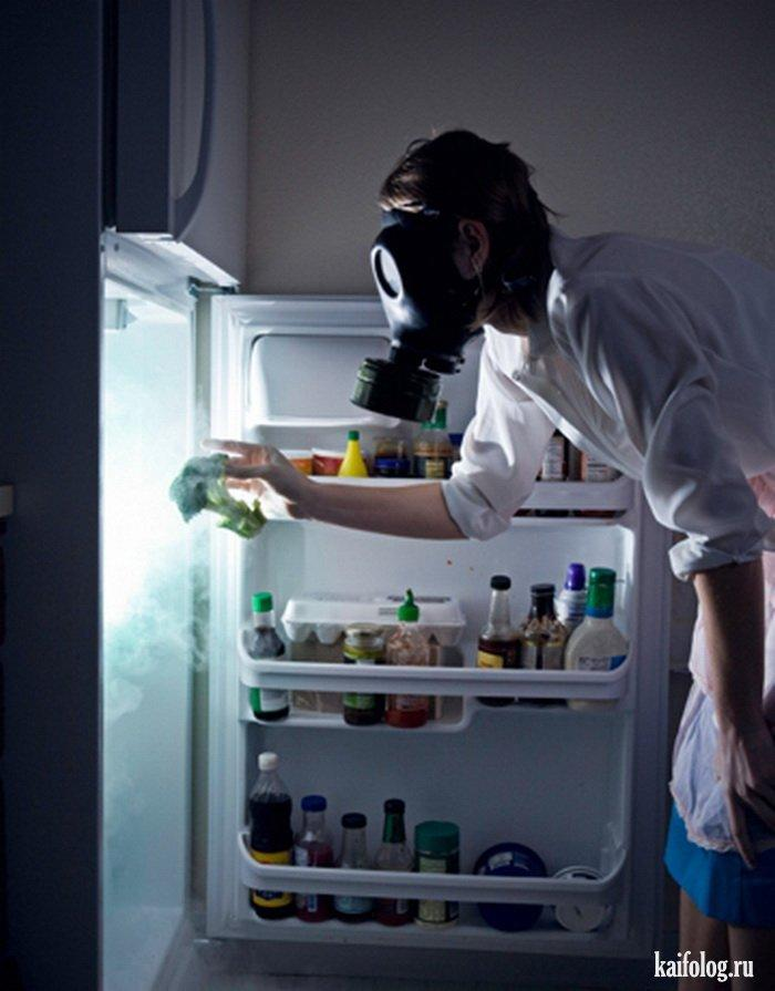 deodorize fridge