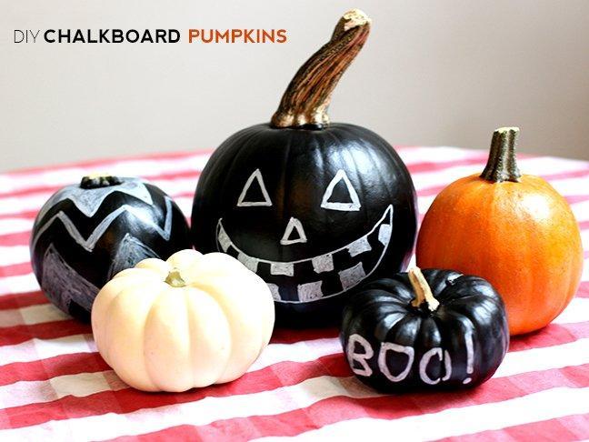 20 Neat DIY's For No-Carve Halloween Pumpkins