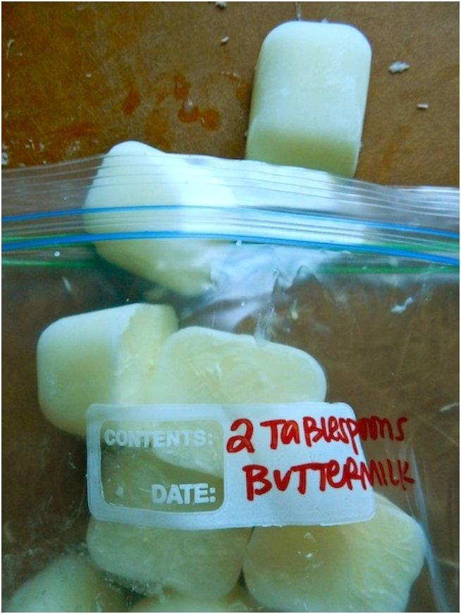 freezing buttermilk