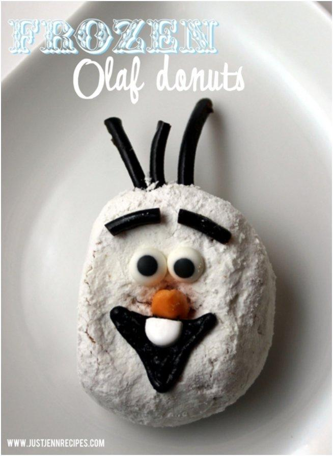 frozen-olaf-donuts