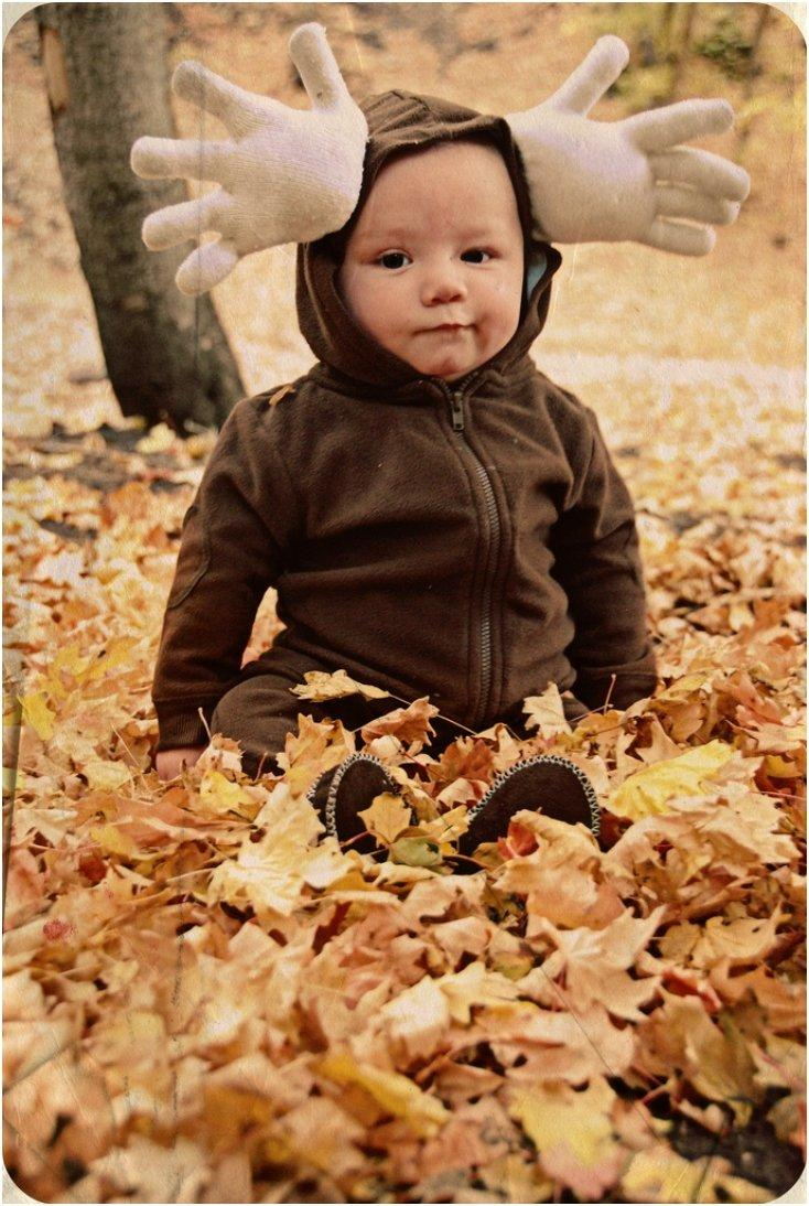 18 Easy DIY Costumes For Your Baby's First Halloween