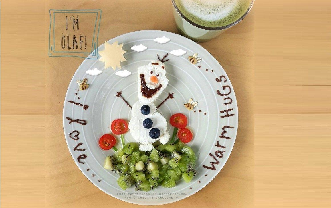 Make 14 Snacks And Meals With Olaf From Disney's Frozen