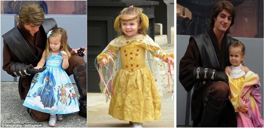 Toddler Wins Over Everyone In Disney World With Her Cute Costumes