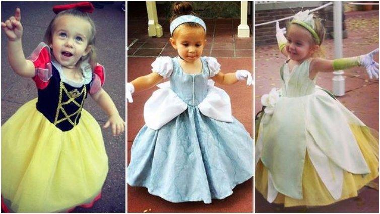 sc 1 st  Mamabee & Toddler Wins Over Everyone In Disney World With Her Cute Costumes
