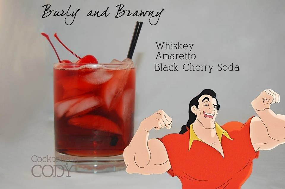 Gaston Disney Cocktail