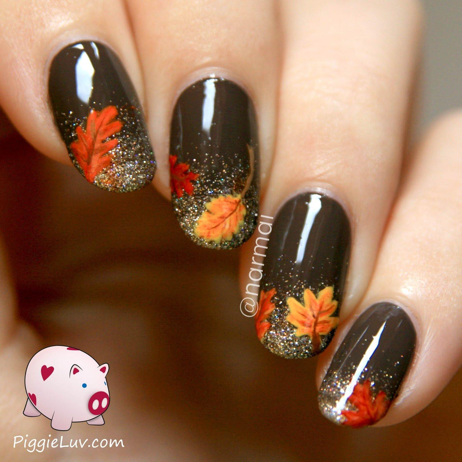 Cute and easy thanksgiving nail art tutorials 16 cute and easy thanksgiving nail art tutorials prinsesfo Choice Image