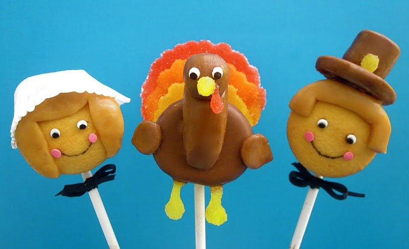 15 Yummy Thanksgiving Treats For The Kids' Table