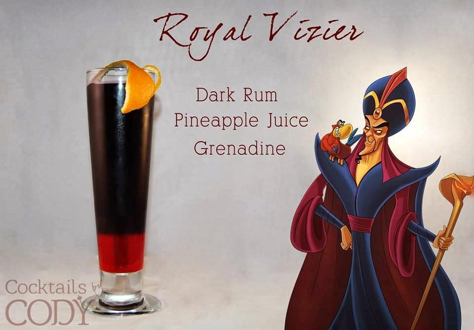Jafar Disney Cocktail