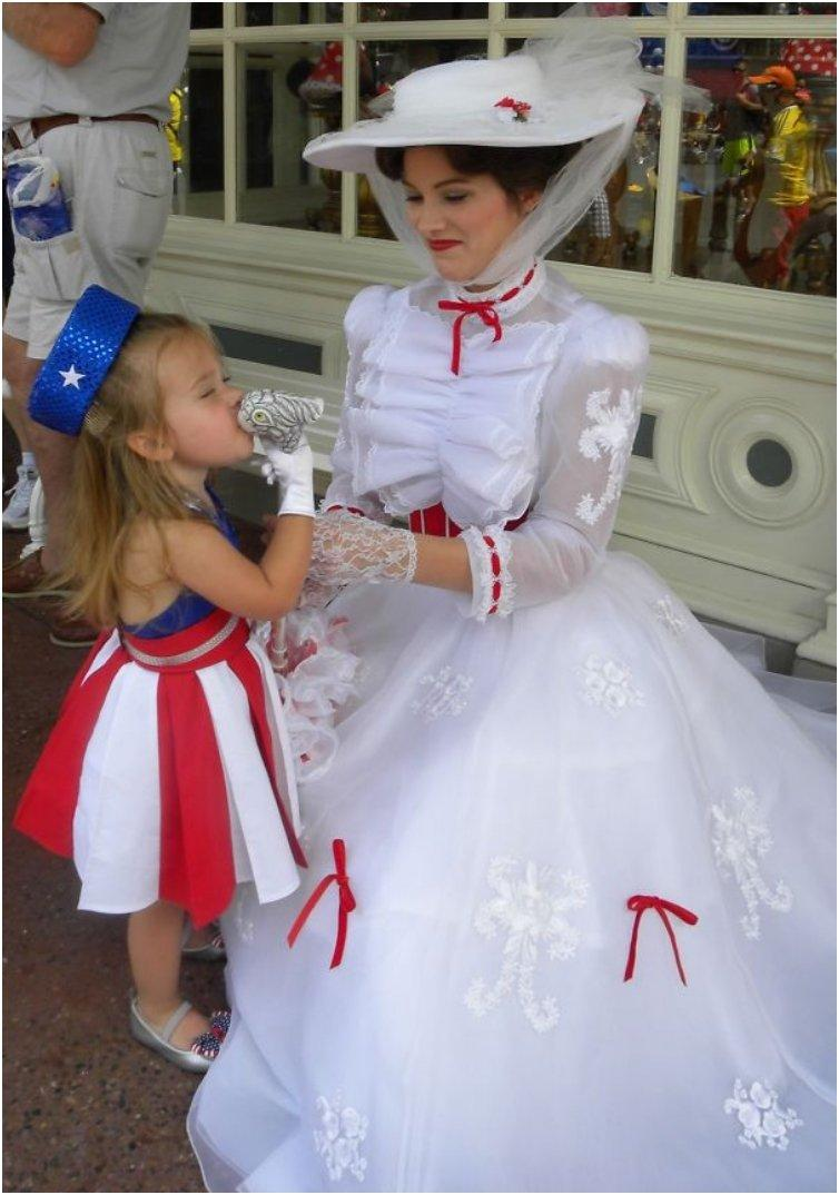 Toddler Wins Over Everyone In Disney World With Her Cute