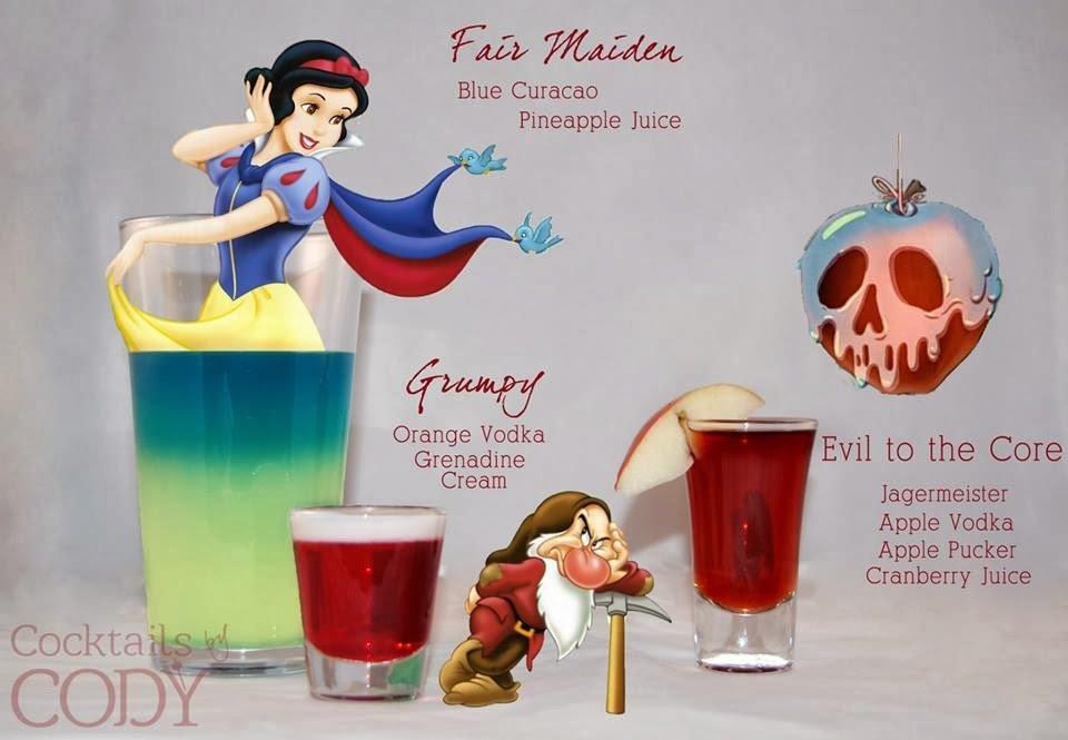 Snow White Disney Cocktail