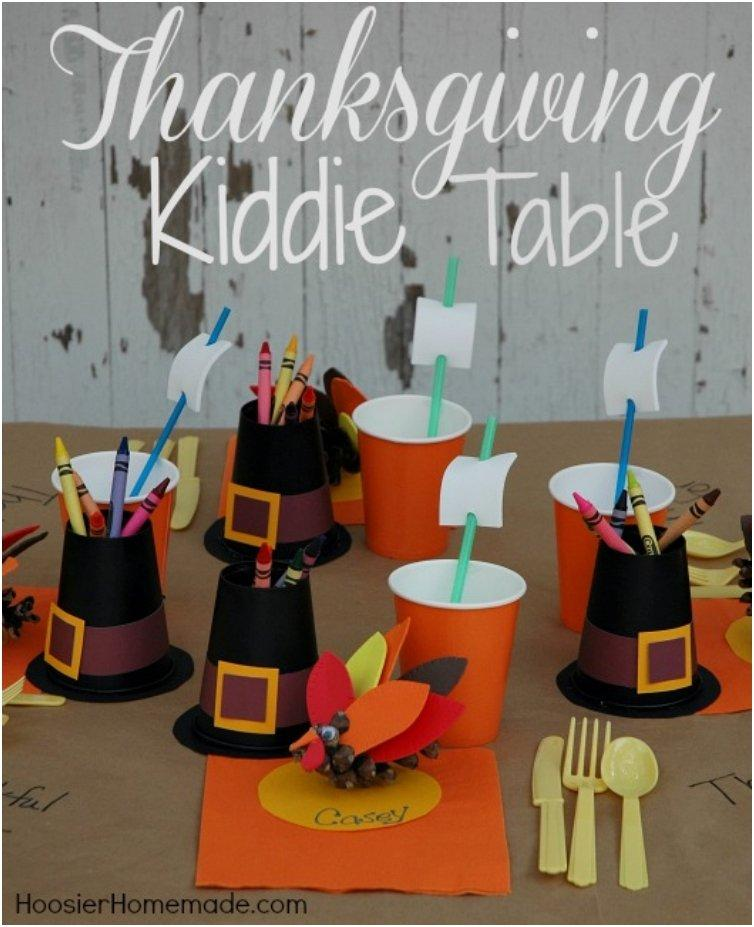 Fun crafts and decor ideas for the thanksgiving kiddie