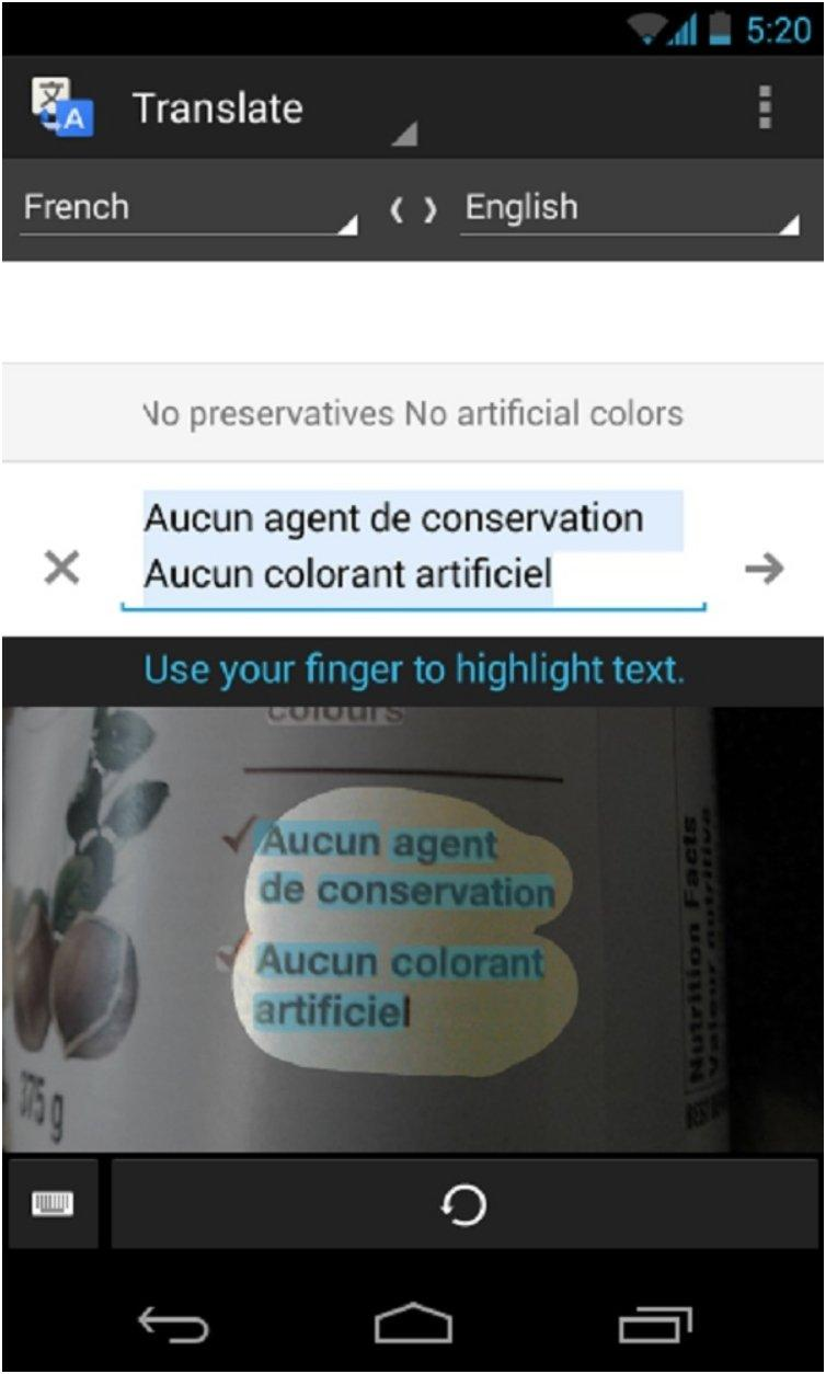 Translate Foriegn Language Text From A Photograph Using Google Translate Or Other Apps