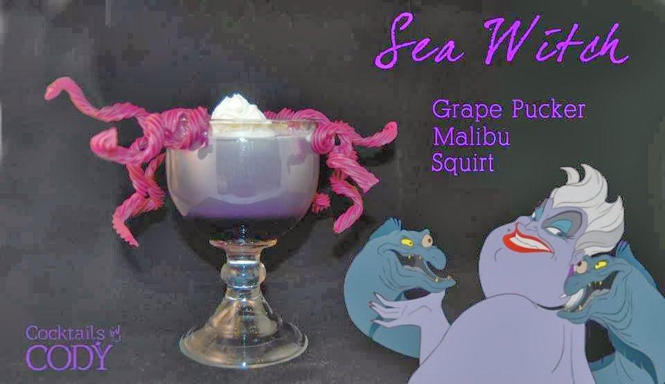 Ursula Disney Cocktail