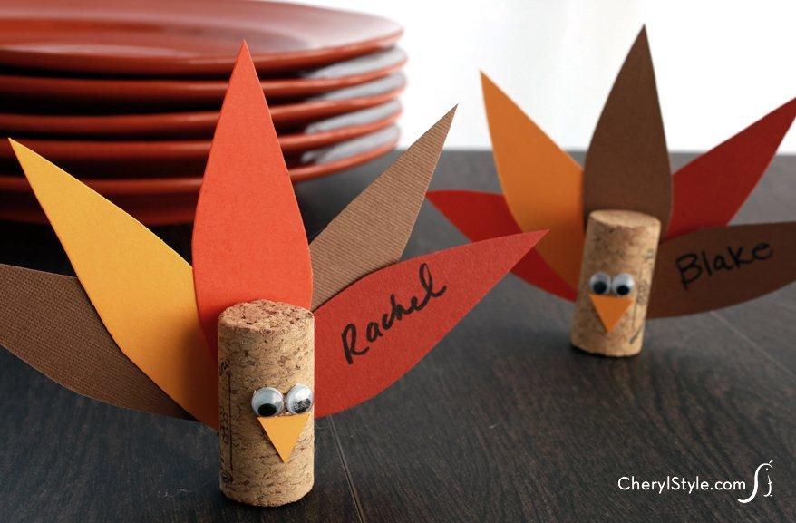 15 Fun Crafts And Decor Ideas For The Thanksgiving Kiddie