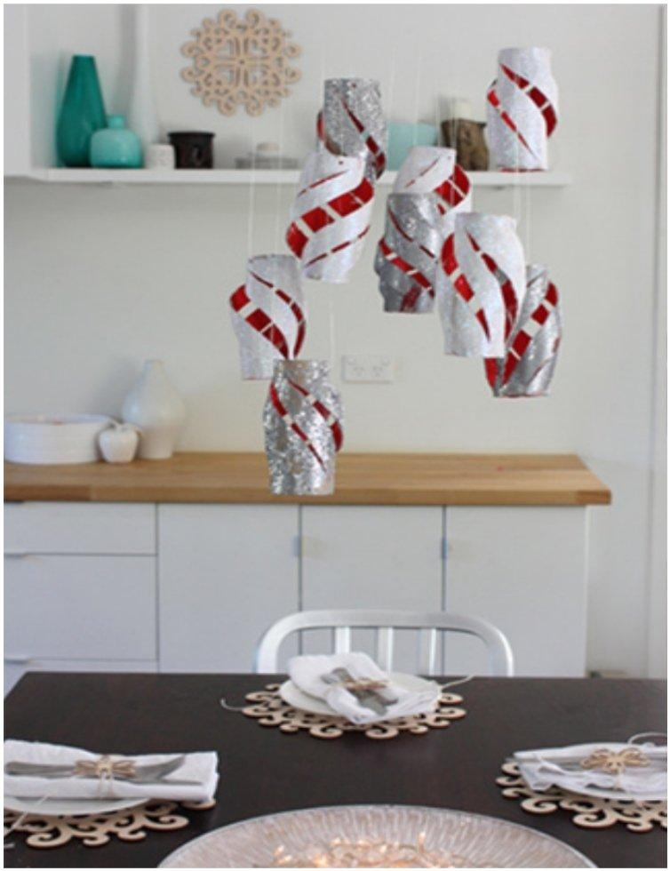 20 Festive DIY Christmas Crafts From Toilet Paper Rolls ~ 043503_Christmas Decoration Ideas Using Toilet Paper Rolls