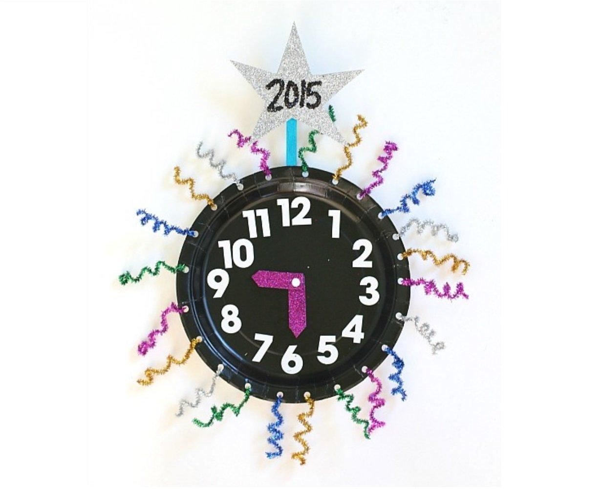 18 Crafts To Make New Year's Eve Fun For The Kids