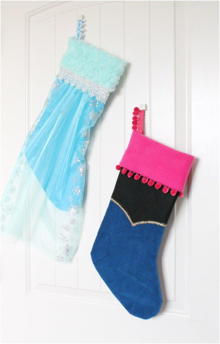 16 Cheerful DIY Christmas Stockings For Santa To Fill