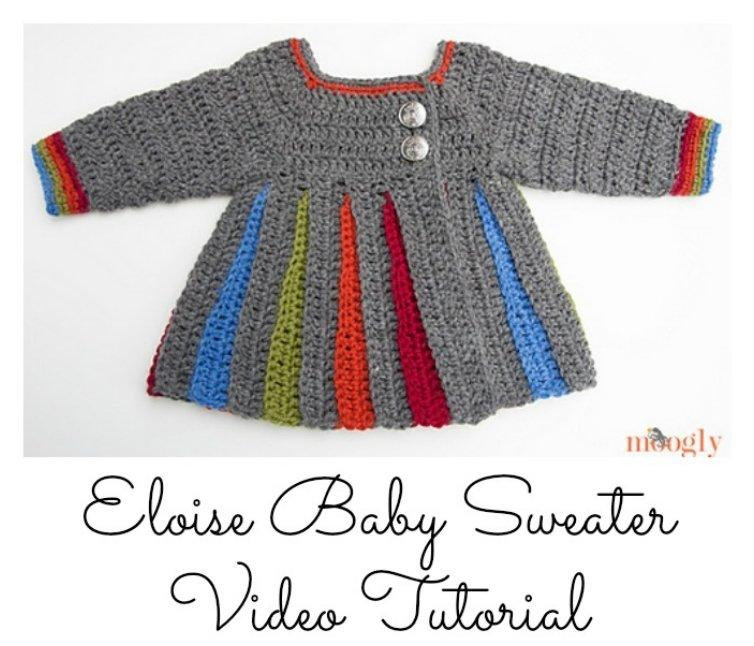 20 Free & Amazing Crochet And Knitting Patterns For Cozy Baby Clothes