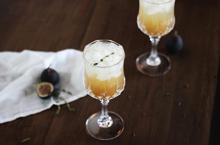 FIG & THYME FIZZ