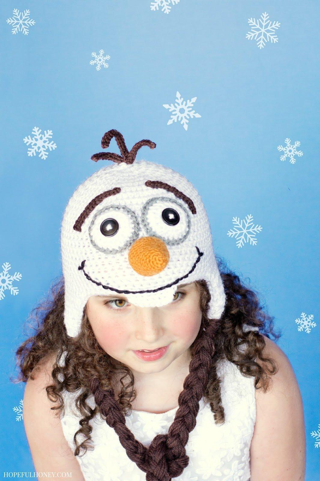 Frozen Olaf Inspired Hat