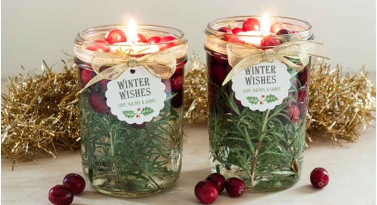 Christmas Floating Candles.Enjoy Christmas By Soft Candle Light With 15 Diy Candle Crafts