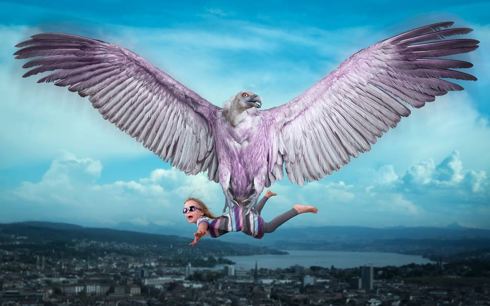 Her last flight with Vultureair