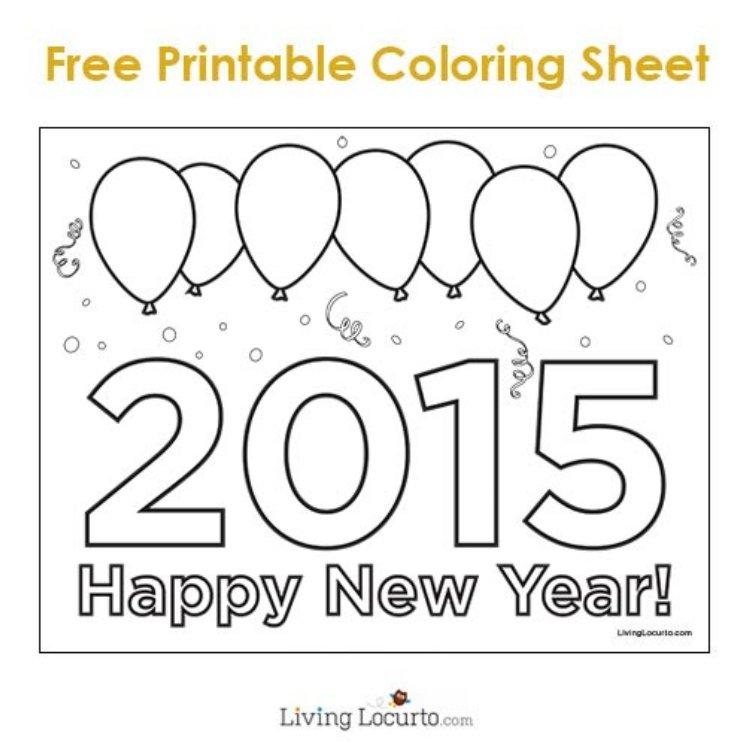 New Year's Printable Decorations