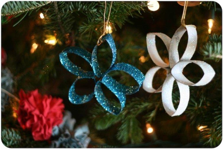 Paper Towel Roll Crafts Christmas Towel Image
