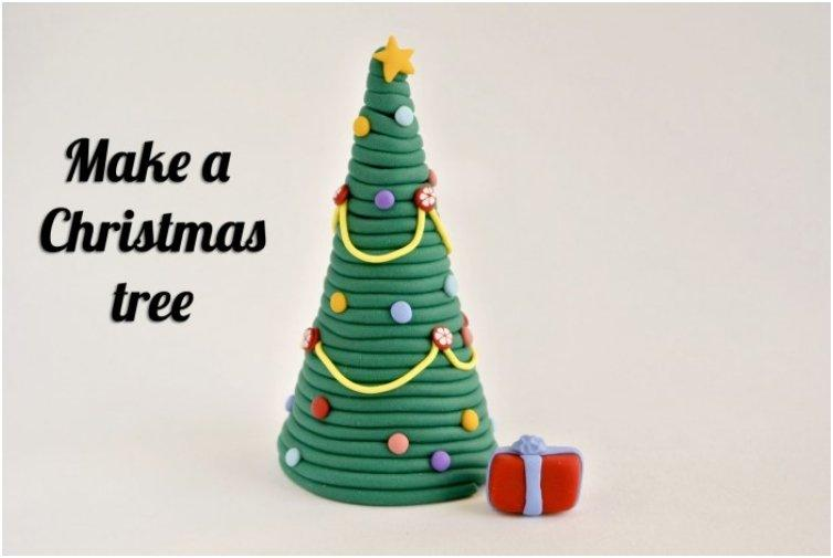 Playdough Christmas Tree