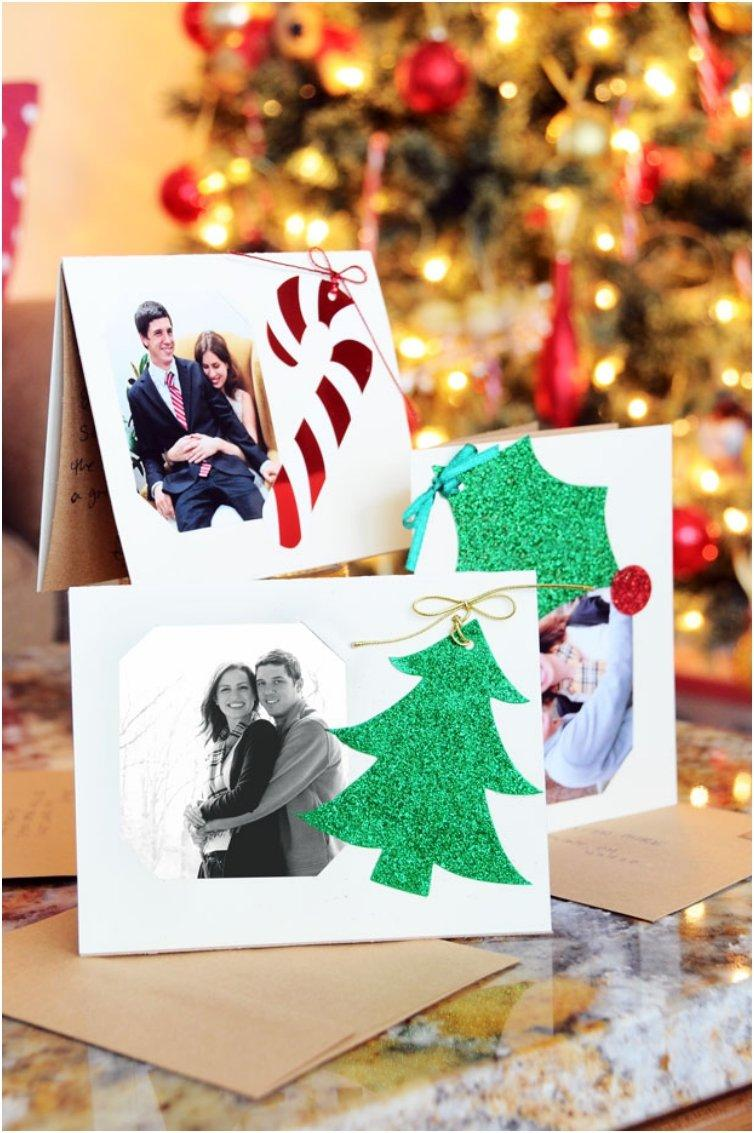 Old-fashioned But Thoughtful, 18 DIY\'s For Christmas Cards