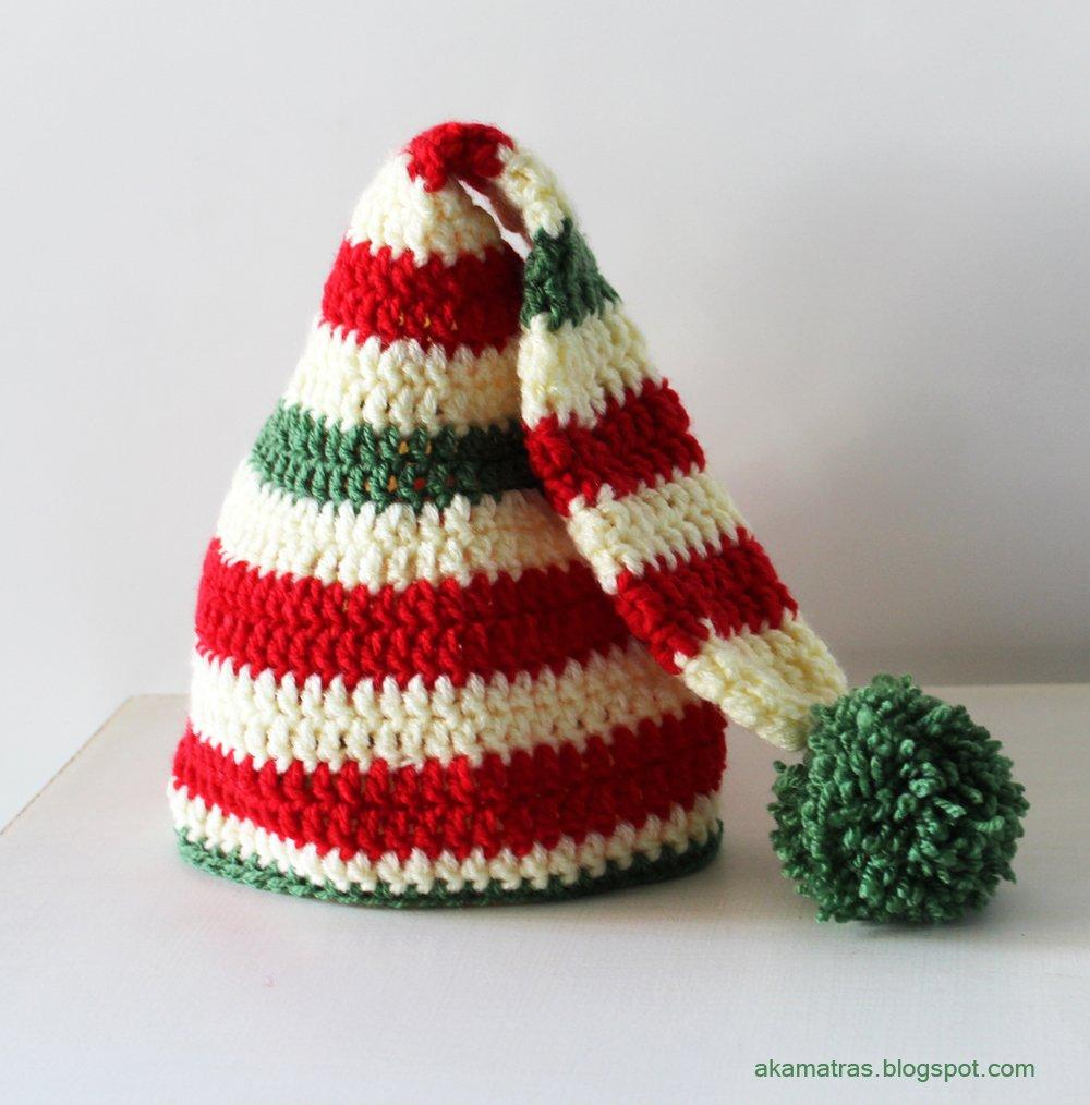 Santa s helper hat Crochet pattern