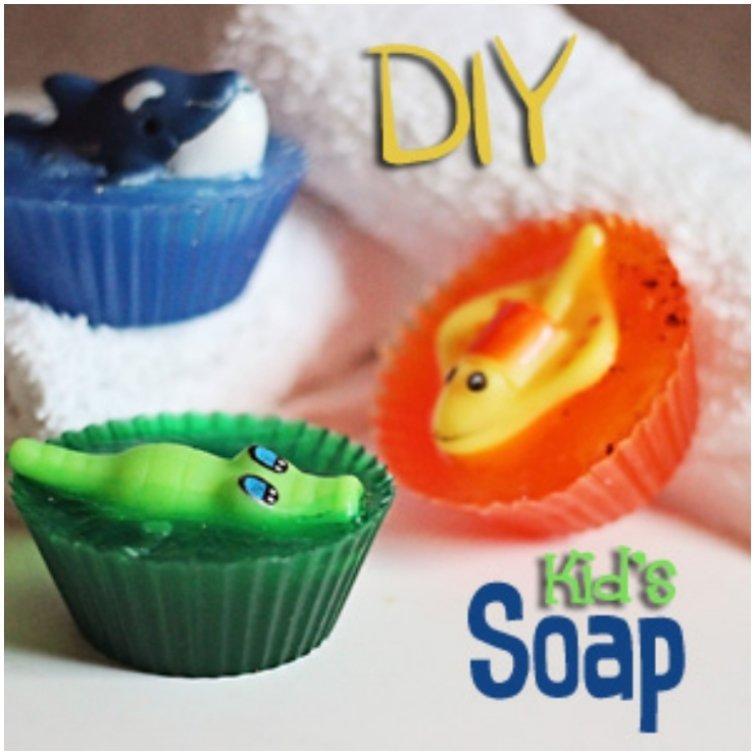 Sea Creature Soap